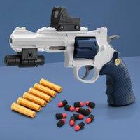 2021 جديد لعبة مسدس الأطفال اليد الصغيرة لينة رصاصة القمر التدريب بندقية محاكاة نموذج مسدس