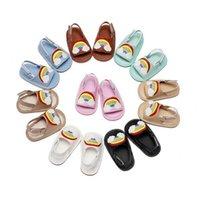 First Walkers Kids Shoes Niños Niños Niñas Calzado Sandalias Arco Iris Baby Summer B5774