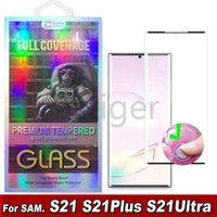 3D Curved Tempered Glass Phone Screen Protector For Samsung Galaxy S21 S20 Note20 Plus Ultra S10 S8 S9 GLASSes IN RETAIL BOX