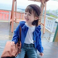 Girl Cardigan Toddler Sweater Knitting Wool Fashion Petals Collar Kids Coat Clothes AL002 210610