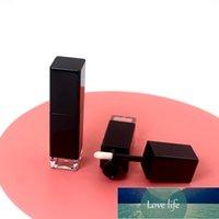 50 шт. 8 мл черного квадрата прозрачный нижний пустой лапганок трубка косметический пластиковый глянец для губ упаковочный контейнер