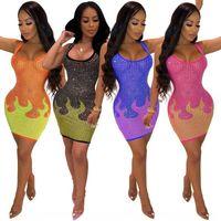 Robes décontractées Vêtements pour femmes Vêtements pour femmes Robe pour femme Goutte taille Plus Taille Robe LivrancePring Arrivée Spaghetti Strap High Womens Fair Fairy