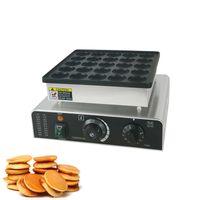 850 W 25 Delik Mini Dorayaki Pancake Maker Elektrikli Hollanda Poffertjes Makinesi Waffle Kek Makinesi