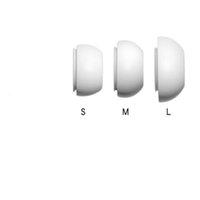 1000sets öronstips hörlurar täcker anti-slipminne skum eartips kompatibla för airpods (1sets = 2pcs)
