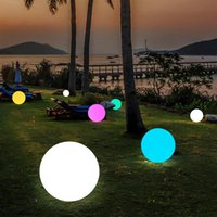 Waterproof LED Garden Ball Lights RGB Underwater Light Outdoor Christmas Wedding Party Lawn Lamps Swimming Pool Floating Decor