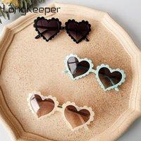 Colori bambini occhiali da sole ragazze ragazzi 2021 moda carino cuore forma di sole occhiali da sole bambini vintage spiaggia occhiali infantili gafas