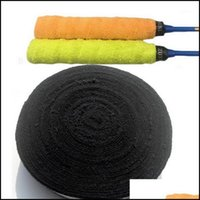 Sweatband Safety Athletic Outdoor As Sports & Outdoors1 Roll 10 M Anti-Slip Towel Badminton Grip Self Adhesive Sweat Band Tennis Overgrip Wr