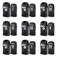 maillot de basketBrooklynNets Kevin Durant Kyrie Irving James Harden Spencer DinwiddienbaLes maillots peuvent être personnalisés en appuyant sur