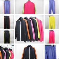 Costume Sweat Sweat Sweat Palmes Sports Mans et Femmes Casual Vestes Jogger Vêtements extérieurs Pantalon Set Hommes Veste Sporting Angels Suit
