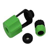 고품질 녹색 분지 수도꼭지 커넥터 호스 빠른 커플 링 어댑터 가든 관개 급수 직선 파이프 장비
