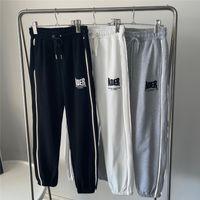 Светоотражающие брюки для белок мужчин 1 Высококачественные вышивальные спортивные штатные брюки