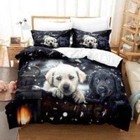 Bedding Sets 3d Set Cartoon Snow Dog Duvet Cover Kids,twin Full Queen King Bedroom Home Textile Housse De Couette