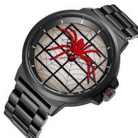 Space Skone 2019 Creative Spiater водонепроницаемый модный стальной ремешок мужские часы