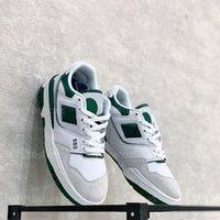 2021 B550 디자이너 구두 화이트 가죽 레이스 업 고무 밑창 스케이트 신발 80 년대 프로 아이러 클래식 새로운 550 야외 플랫폼 신발
