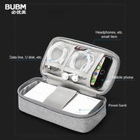 Étui de voyage protables Bubm pour 30000 MAH Power Bank Cas de protection pour la charge de câble de batterie externe