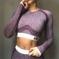 Женские дизайнерские спортивные йога леггинсы костюма длинные брюки спортивная одежда трексуиты фитнес футболки лучшие спортивные одежды Gymshark Print Picture Set Outfits
