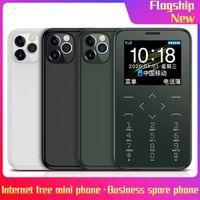 오리지날 뉴 콩 7S 플러스 미니 카드 휴대 전화 잠금 해제 쿼드 밴드 1.54 ''MTK6261M 핸드폰 울트라 얇은 패션 어린이 소형 휴대폰