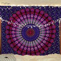 Mandala Tapestry Wall Hanging Multifunctional Boho Printed Wall Tapestry Throw Blanket Rug Bedspread Cover Yoga Mat Decor India dsf0923