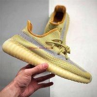 2021 zapatos de correr negro reflectante estática israfil cinder desierto sabio v2350 Luz de cola de tierra ARSH YECHEIL EVA_BOOST MENS