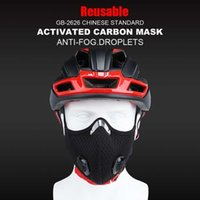 with Cycling Mask Filter Face Masks Protective Carbon Anti-pollution Sport Training Bike Facemask Reutilisab Mascarillas Chch DHIM