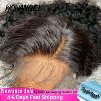 Lace Wigs Jerry Curly Short Bob Frontal Human Hair Wig 4X4 Closure Deep Wave Brazilian Remy Pre Plucked Clearance Sale