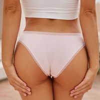 3Pcs Lace Ventilation Panty for Women Female Cotton Briefs Sexy Ladies Low-Rise Underpants Girls Seamless Intimates Lingerie New