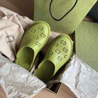 2021 Designer Jelly Damen Mid Heel Sandale Hausschuhe, aus transparenten Materialien, modisch, sexy und schöner, sonniger Strand Frau Schuhe Hausschuhe