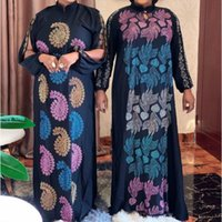 Dashiki Maxi Dress African Dresses For Women 2021 Plus Size Clothing Africa Bazin Robe Africaine Femme Clothes Ethnic