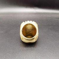 SIDAN avançado personalizado clássico globo campeão anel de alta qualidade réplica coleção fãs coleção perfeito arte presente