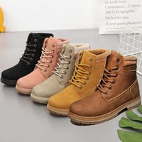 Boots 2021 Winter Shoes Woman Warm Snow Women Ladies Ankle Outdoor Thick Bottom Tooling Pink Booties