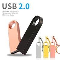 Pendrive 64GB 128GB Memory Stick 32GB 16GB 8GB USB Flash Drives Metal Waterproof 8 16 32 64 128 GB USB2.0