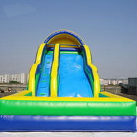 Commercial Inflatable Water Slide In Pool Bouncer Bouncers For Kids Outdoor Games & Activities