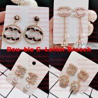 2021 estilo redondo designer garanhão brincos de jóias de luxo mulheres brinco de pérola Elagant de alta qualidade com caixa