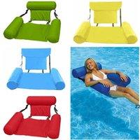 Natação inflável camas de flutuação flutuante cadeira praia praia nadar piscina waters hammock colchões de ar cama esporte colchão hwb10003