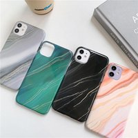 Gradient Marble Phone Cases Hard PC Shockproof Back Cover For iPhone12 11 Pro Max XR XS X 7 8 Plus