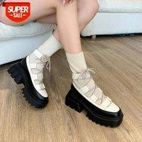 Fashion socks shoes women fall Korean version thick bottom high top small short boots knitted elastic thin socks boots Drop Ship #PB2q