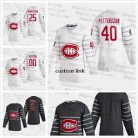 Montreal Canadiens 2020 GIOCO ALL-STAR Jersey Jesper Kotkaniemi Max Domi Danault Drouin Gallagher Tomas Tatar Shea Weber Carey Prezzo.