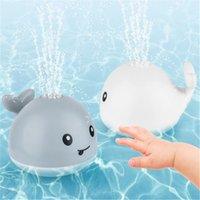 Baby Light Up Ванна Toy Toy Water Sprinkler Pool Toys для малышей младенцев детей