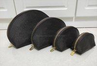Женщины косметические туалетные сумки 4шт / комплект женской сцепления монеты кошелек для мытья сумка высокого качества женские кошельки