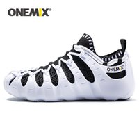 ONEMIX 2020 Men Light Outdoor Walking Shoes Soft Rubber Outsole Casual Multifunction Quick Dry Socks Breathable Running Shoes