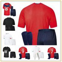 LOSC Lille Soccer Jersey 2021 Yazici Çelik Bamba Botman 20 21 Kits adultos Kids Jikone Rsanches Maillot de Football Shirt