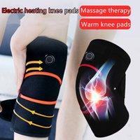 공장 도매 노인 전기 난방 무릎 패드 압축 진동 오래 된 차가운 다리 관절 통증 따뜻한 마사지 사용자 정의