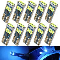 Emergency Lights W5W T10 Led Canbus Bulbs On Cars Auto Signal Light Interior Decoration Diode Lamps For RDX TL TSX MDX TE RSX INTEGRA