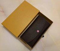 Purses Women's Wallets Zipper Bag Female Purse 6 colors Fashion Card Holder Pocket Long Women Tote Bags With Box DustBags designer wallet