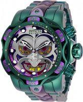 2021 Invict Reserve Modell - 26790 DC Comics Joker Venom Limited Edition Schweizer Quarz Chronograp Silikon Gürtel Quarzuhr