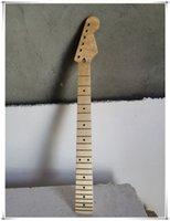 6 dizeler akçaağaç klavye 22 perde elektro gitar boynu, siyah noktalar kakma, birçok tür stil sunabilir