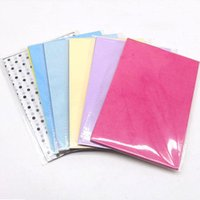Gift Wrap 100sheet bag Wrapping Papers Retro Multicolor Print Tissue Paper Bookmark Floral Packaging Material