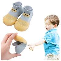 First Walkers Summer Children Toddler Baby Girls Boys Cartoon Animal Prints Soft Bottom Slipper Socks Shoes Prewalker