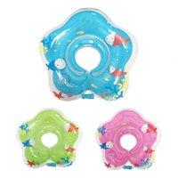 Salva veste bóia 1 pcs natação anel de neck plumagem de ar inflável impedir bebê banho acessório criança criança crianças piscina flutuador para