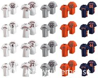 2021 Astros 27 Jose Altuve 79 Taylor Jones 23 마이클 Brantley 21 Zack Greinke 26 Myles Straw 22 Josh Reddick 5 Jeff Bagwell Baseball Jersey